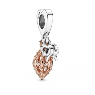 Pendant Charm in Pandora Rose Christmas Decorations in two tones