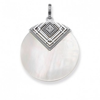 THOMAS SABO NECKLACE AFRICA TRIANGLE MOTHER OF PEARL