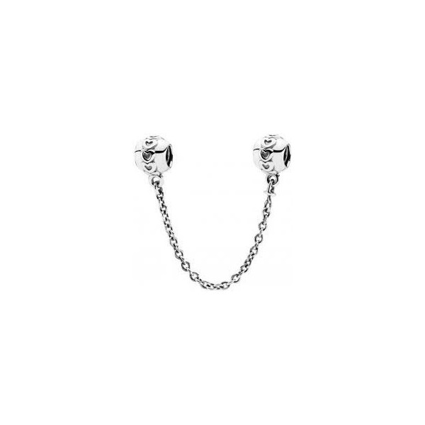 Band of Hearts Safety Chain Charm