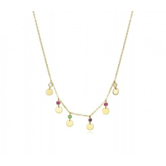 VICEROY GOLD NECKLACE WITH...