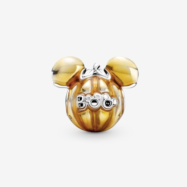 Disney Mickey Mouse Pumpkin Charm